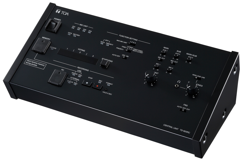 Bộ điều khiển trung tâm: TOA TS-920RC