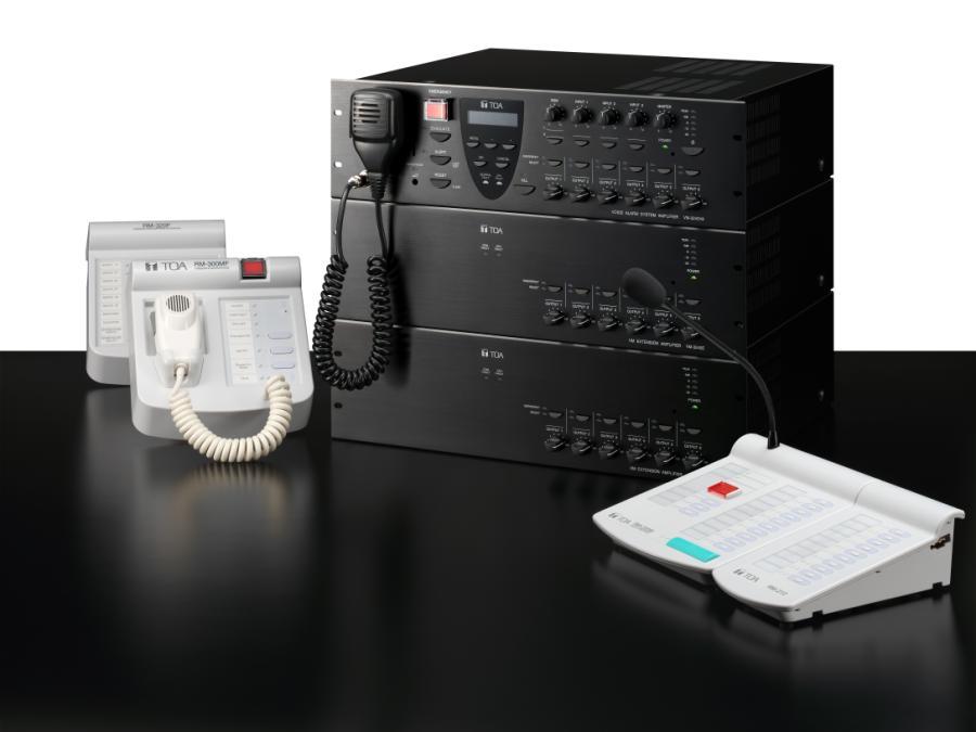Thiết bị âm thanh cho ngân hàng TOA VX-3000