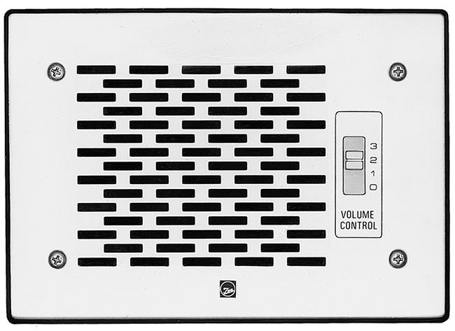 Loa âm tường 3W có chiết áp: TOA PC-391T