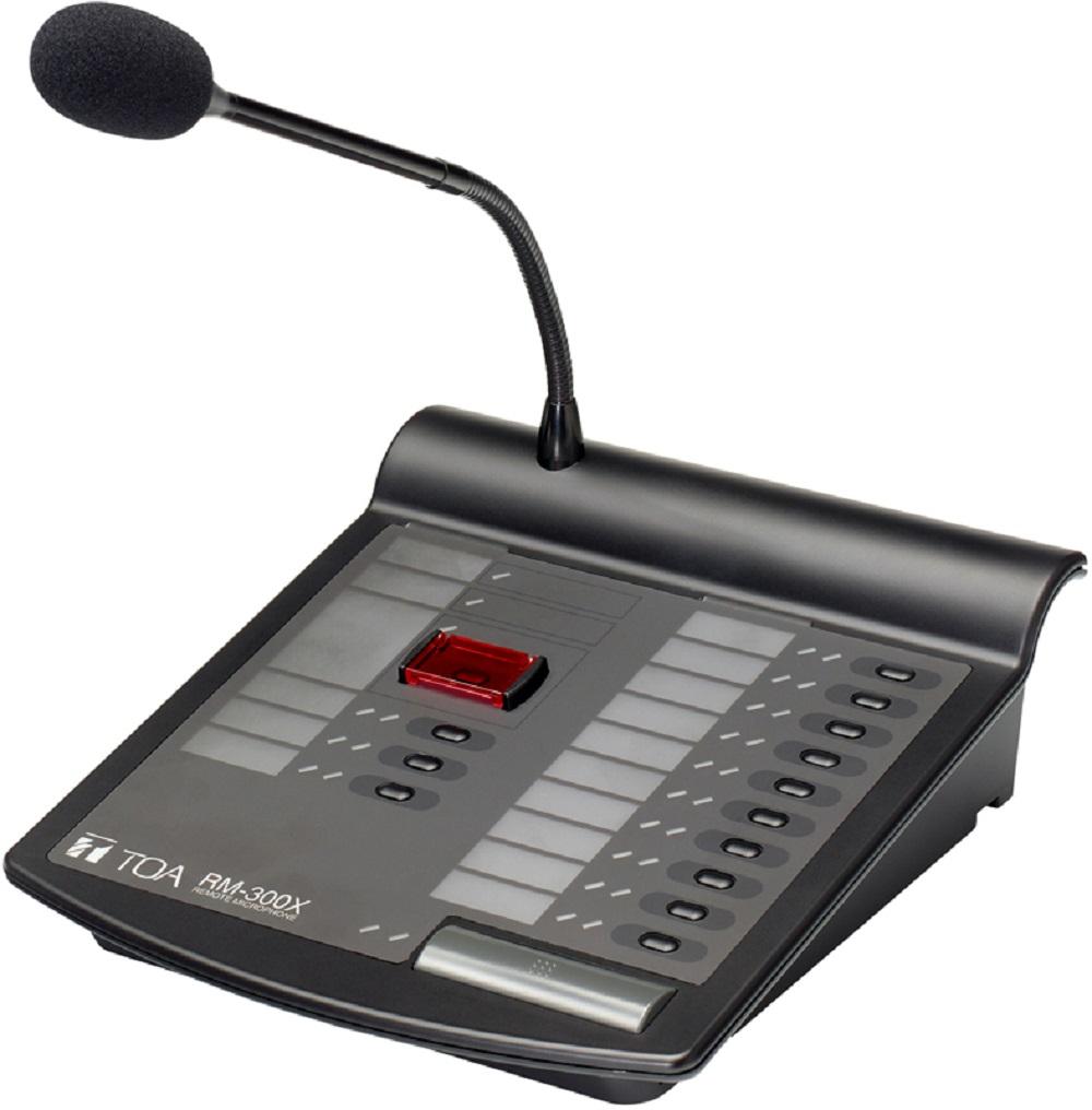 Micro chọn vùng từ xa: TOA RM-300X