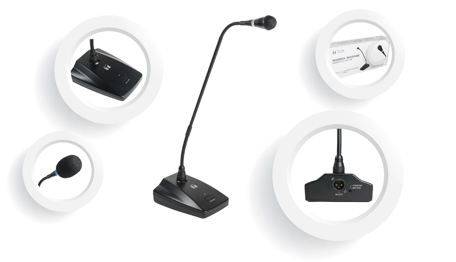 Micro độ nhạy cao EM-380, EM-800, EM-700
