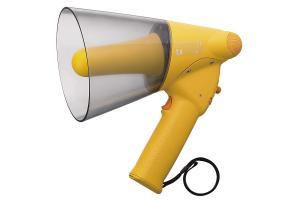 Megaphone cầm tay chống nước, còi hú: TOA ER-1206W...