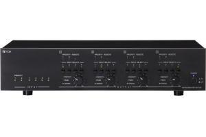 Mixer 4x4 kèm tăng âm số 4x250W: TOA MA-725F-AS
