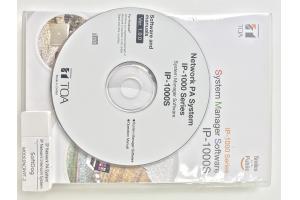 Phần mềm vận hành hệ thống: TOA IP-1000S