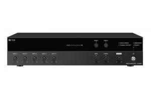 Tăng âm liền Mixer 60W, 2 kênh: TOA A-3506D