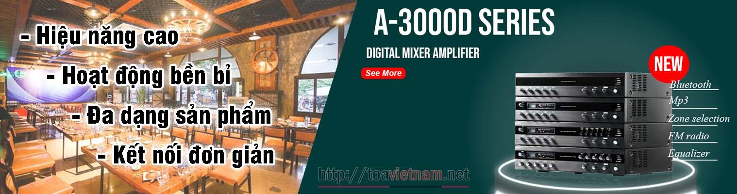 A-3000D series, dòng tăng âm số