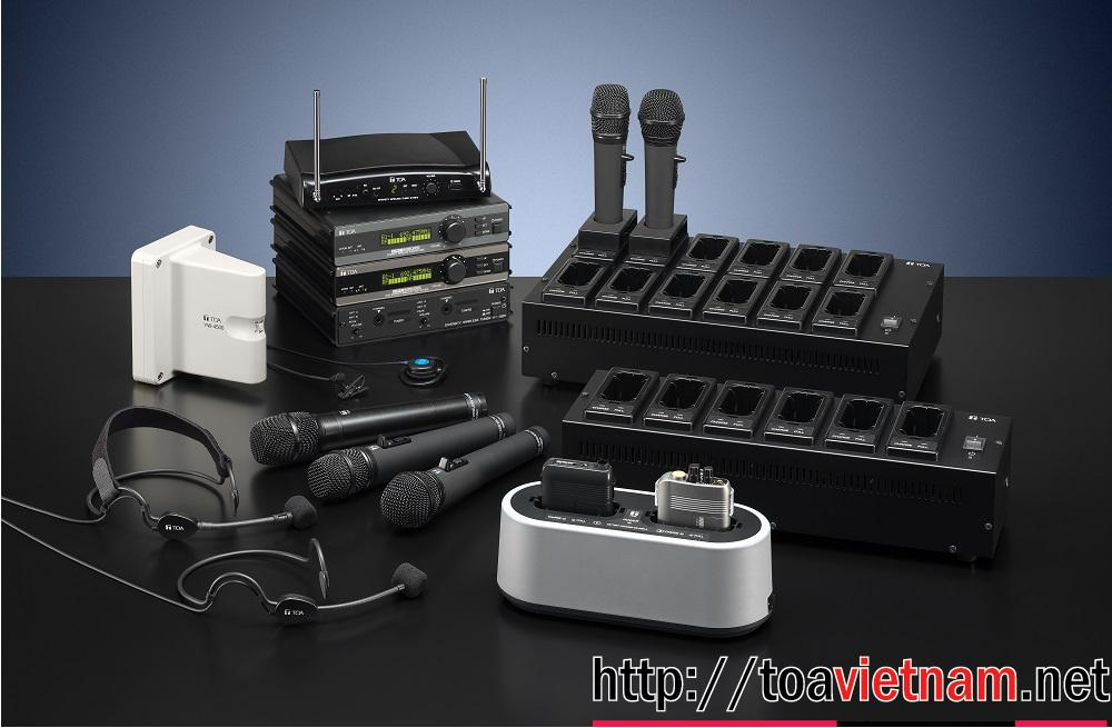 Micro không dây UHF TOA WM-5325, WM-5225, WT-5810, WT-5805