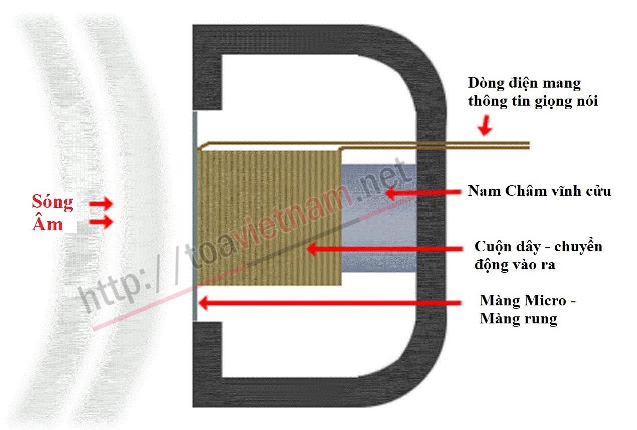 Micro điện động - Micro cuộn dây