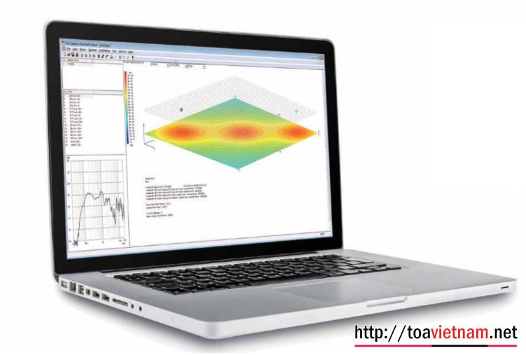 Phần mềm mô phỏng âm thanh - TOA SPV