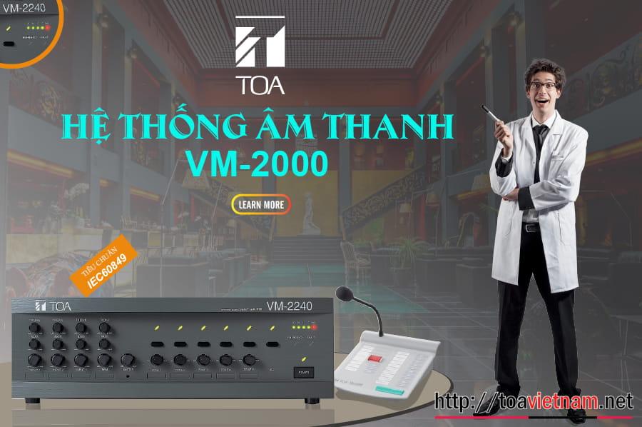 Giới thiệu hệ thống VM-2000