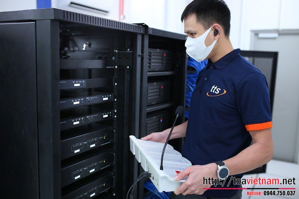 Dự án IP-1000 tại một trường quốc tế