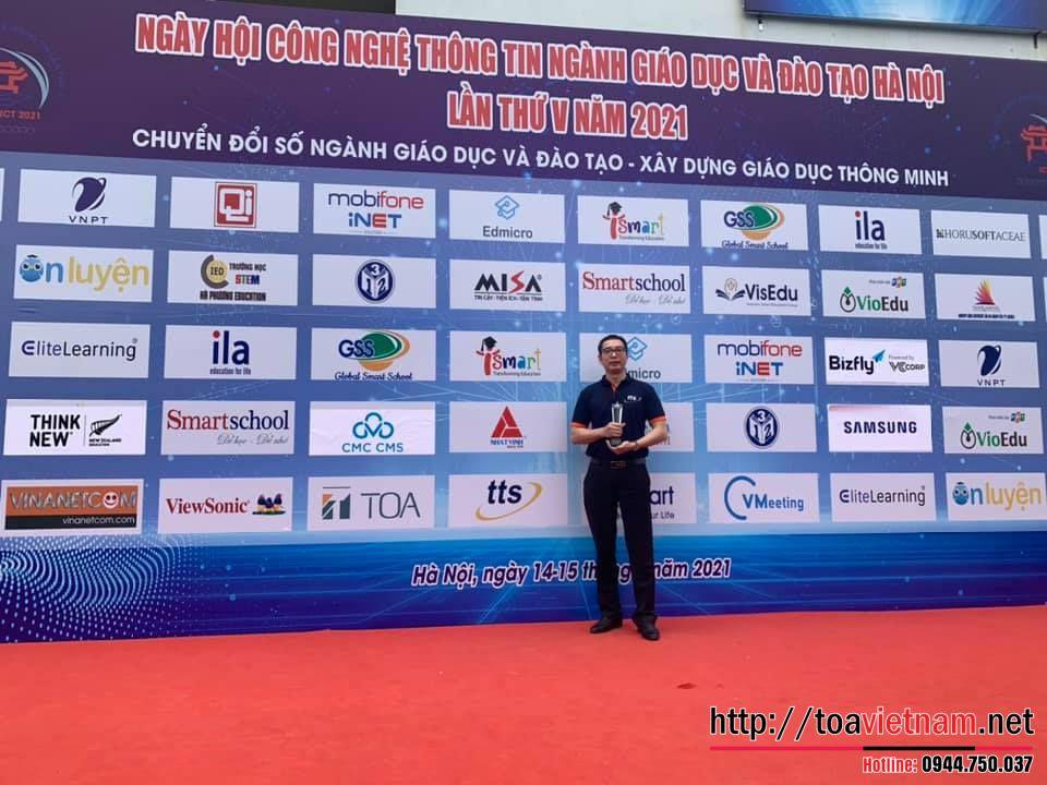 TTS Tham dư triển lãm giáo dục thông minh tại Hà Nội