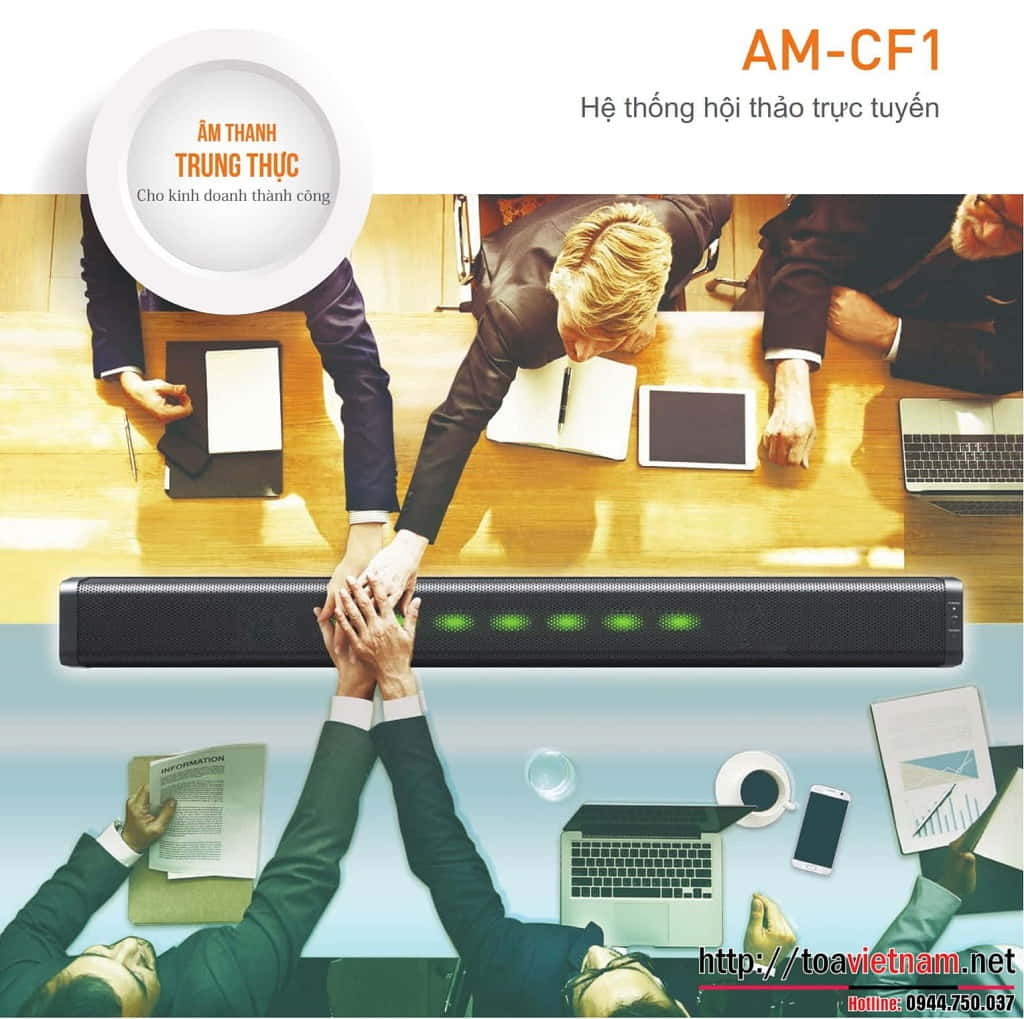 Hệ thống hội thảo trực tuyến all-in-one: AM-CF1