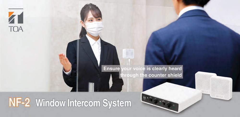 Hệ thống âm thanh hỗ trợ giao tiếp 2 chiều NF-2