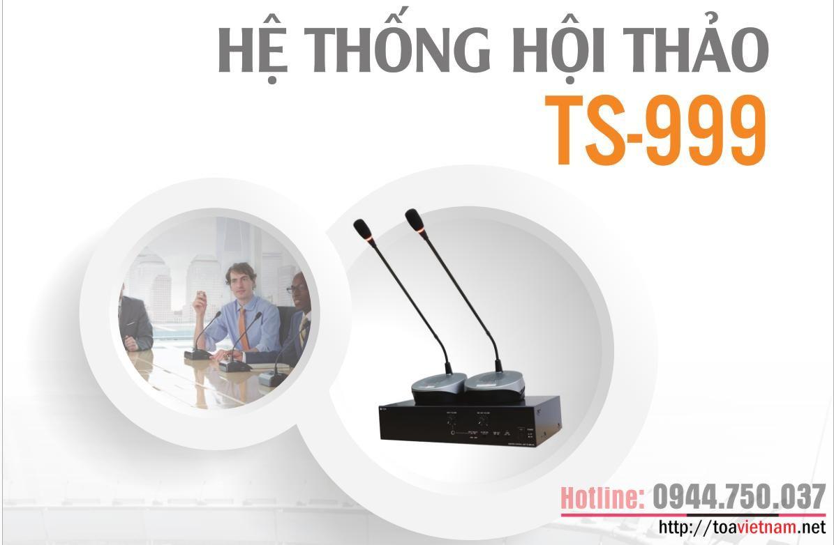 Giới thiệu hệ thống hội thảo mới TS-999