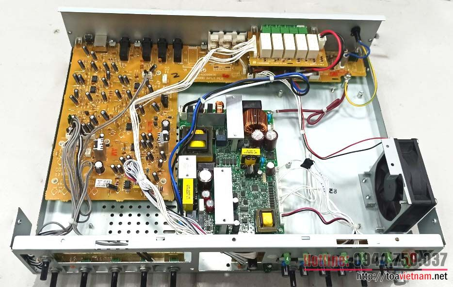 Dịch vụ sửa chữa tăng âm, âm ly A-3224D-AS, A-3248D-AS