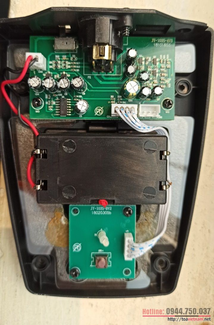 Dịch vụ sửa chữa mic để bục EM-380-AS