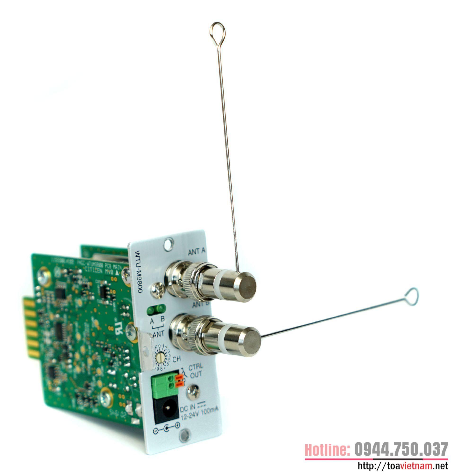 Tính năng chính của mô-đun thu WTU-M9800-AS