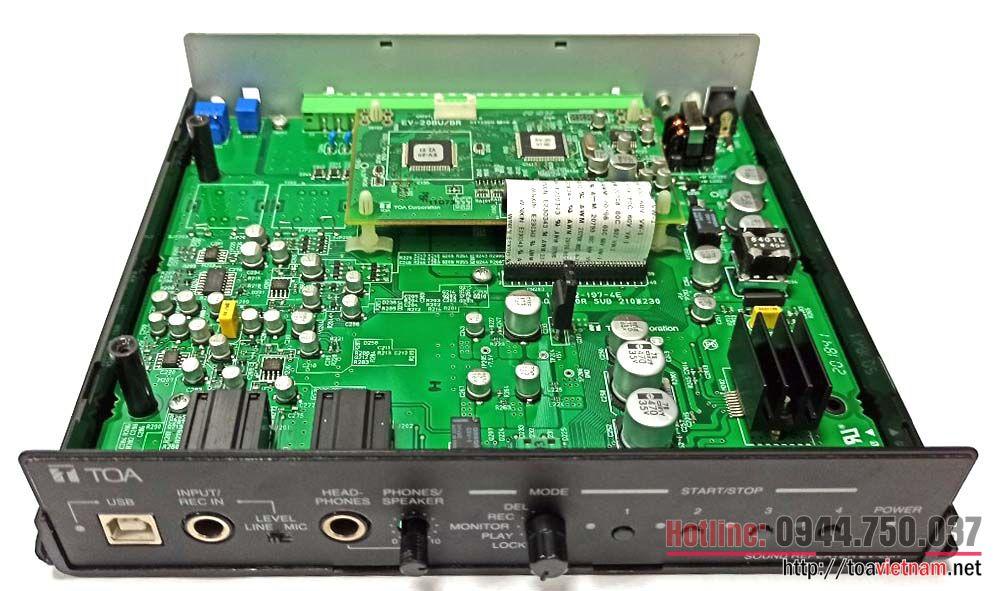 Dịch vụ sửa chữa bộ lưu bản tin ghi âm sẵn EV-20R