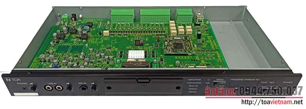 Dịch vụ sửa chữa, cài đặt bộ lưu bản tin ghi âm sẵn EV-700
