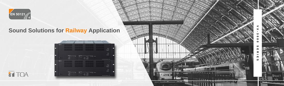 VX-3000, IP-3000 và NX-300 đáp ứng tiêu chuẩn EN 50121-4 !